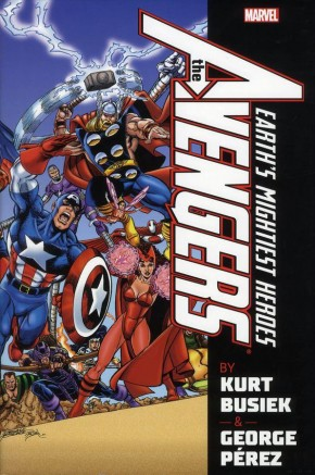 AVENGERS BY BUSIEK AND PEREZ VOLUME 1 OMNIBUS HARDCOVER