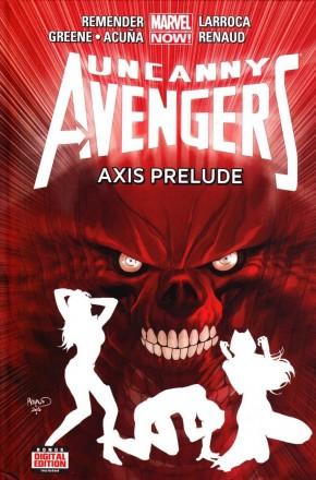 UNCANNY AVENGERS VOLUME 5 AXIS PRELUDE HARDCOVER