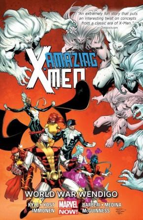 AMAZING X-MEN VOLUME 2 WORLD WAR WENDIGO GRAPHIC NOVEL