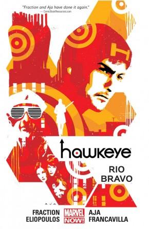 HAWKEYE VOLUME 4 RIO BRAVO GRAPHIC NOVEL