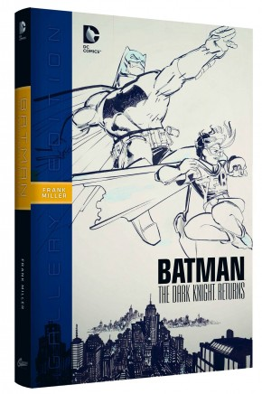 BATMAN THE DARK KNIGHT RETURNS GALLERY EDITION HARDCOVER
