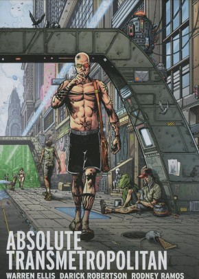ABSOLUTE TRANSMETROPOLITAN VOLUME 2 HARDCOVER