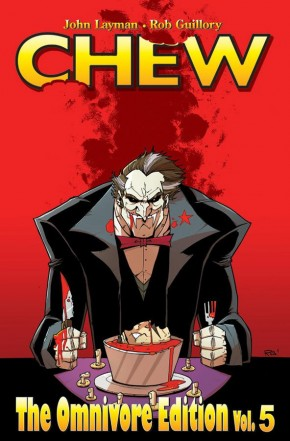 CHEW OMNIVORE EDITION VOLUME 5 OVERSIZED HARDCOVER