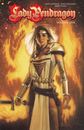 LADY PENDRAGON VOLUME 1 GRAPHIC NOVEL