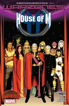 HOUSE OF M WARZONES GRAPHIC NOVEL