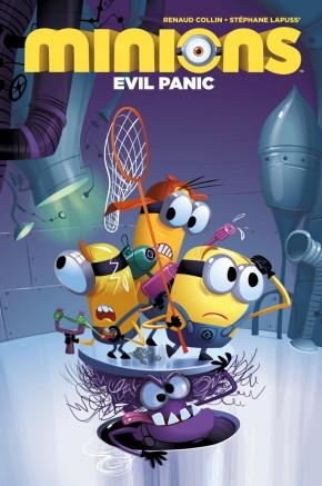 MINIONS VOLUME 2 EVIL PANIC DELUXE EDITION HARDCOVER
