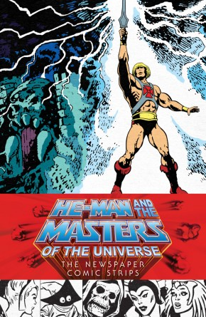 HE-MAN AND THE MASTERS OF UNIVERSE NEWSPAPER COMIC STRIPS HARDCOVER