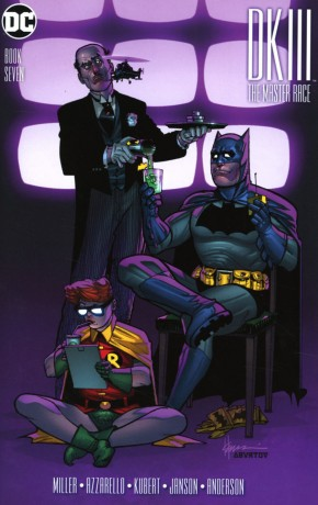 DARK KNIGHT III MASTER RACE #7 CHAYKIN 1 IN 50 INCENTIVE VARIANT COVER