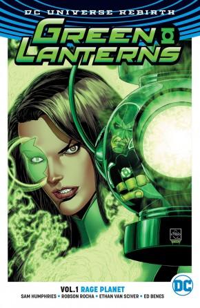 GREEN LANTERNS VOLUME 1 RAGE PLANET GRAPHIC NOVEL