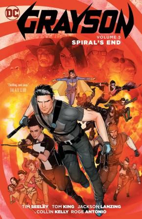 GRAYSON VOLUME 5 SPYRALS END GRAPHIC NOVEL