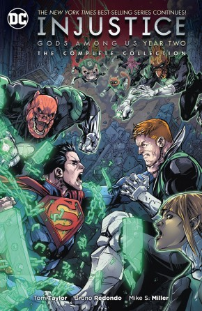 INJUSTICE GODS AMONG US YEAR TWO COMPLETE COLLECTION GRAPHIC NOVEL