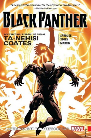 BLACK PANTHER BOOK 2 NATION UNDER OUR FEET GRAPHIC NOVEL