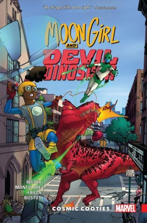 MOON GIRL AND DEVIL DINOSAUR VOLUME 2 COSMIC COOTIES GRAPHIC NOVEL