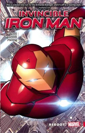 INVINCIBLE IRON MAN VOLUME 1 REBOOT GRAPHIC NOVEL
