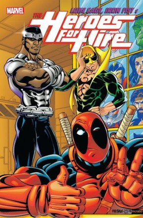 LUKE CAGE IRON FIST AND HEROES FOR HIRE VOLUME 2 GRAPHIC NOVEL
