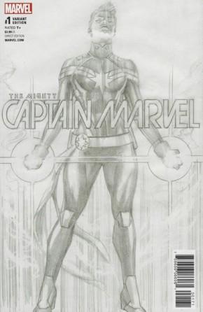 MIGHTY CAPTAIN MARVEL #1 RETAILER BONUS VARIANT COVER