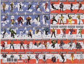US AVENGERS #1 RETAILER BONUS ONE PER STORE VARIANT COVER