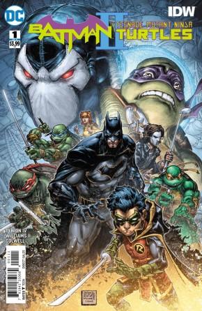 BATMAN TEENAGE MUTANT NINJA TURTLES II #1