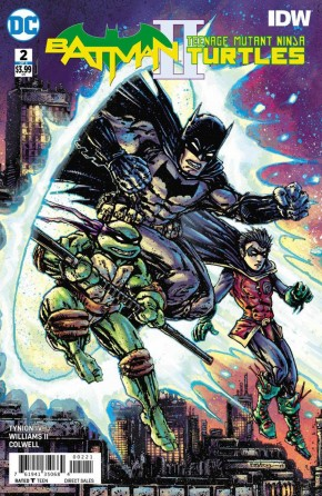 BATMAN TEENAGE MUTANT NINJA TURTLES II #2 VARIANT