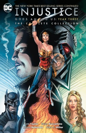 INJUSTICE GODS AMONG US YEAR THREE COMPLETE COLLECTION GRAPHIC NOVEL