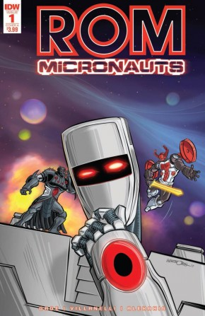 ROM AND THE MICRONAUTS #1