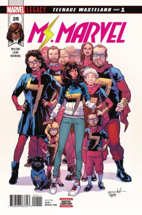 MS MARVEL #25 (2015 SERIES)
