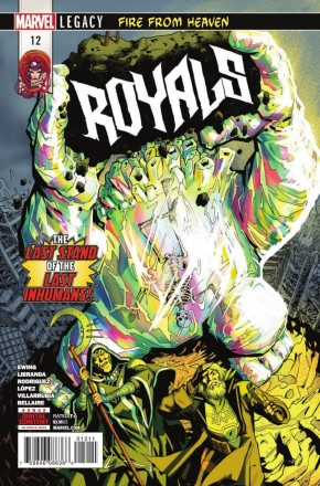 ROYALS #12 (2017 SERIES)