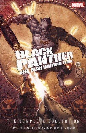 BLACK PANTHER MAN WITHOUT FEAR THE COMPLETE COLLECTION GRAPHIC NOVEL