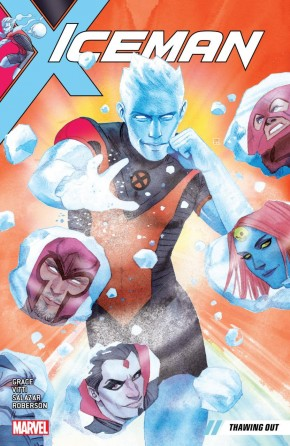 ICEMAN VOLUME 1 THAWING OUT GRAPHIC NOVEL