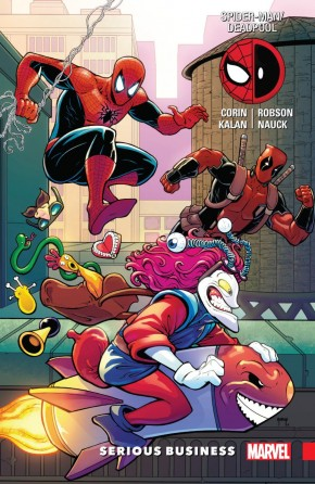 SPIDER-MAN DEADPOOL VOLUME 4 SERIOUS BUSINESS GRAPHIC NOVEL