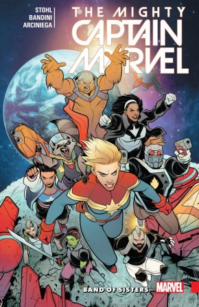 MIGHTY CAPTAIN MARVEL VOLUME 2 BAND OF SISTERS GRAPHIC NOVEL