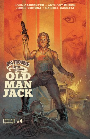 BIG TROUBLE IN LITTLE CHINA OLD MAN JACK #4 (RANDOM COVER)