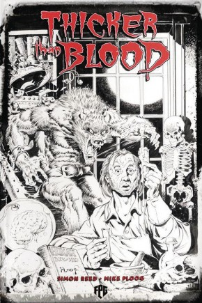THICKER THAN BLOOD GRAPHIC NOVEL PLOOG PENCIL EDITION
