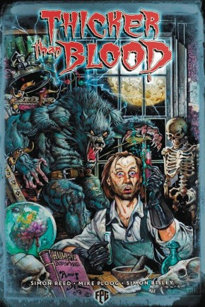 THICKER THAN BLOOD GRAPHIC NOVEL BISLEY PAINTED EDITION