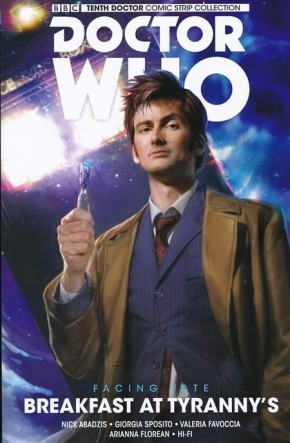 DOCTOR WHO 10TH DOCTOR FACING FATE VOLUME 1 BREAKFAST AT TYRANNYS GRAPHIC NOVEL
