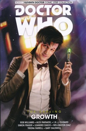 DOCTOR WHO 11TH DOCTOR SAPLING VOLUME 1 GROWTH GRAPHIC NOVEL
