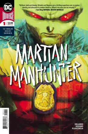 MARTIAN MANHUNTER #1 (2018 SERIES)