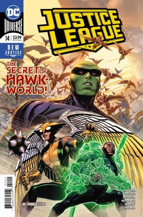 JUSTICE LEAGUE #14 (2018 SERIES)