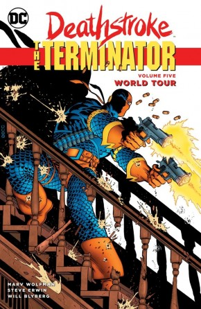 DEATHSTROKE THE TERMINATOR VOLUME 5 WORLD TOUR GRAPHIC NOVEL