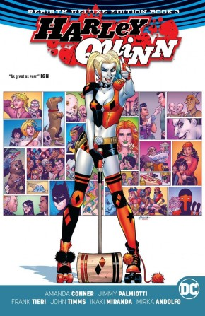 HARLEY QUINN REBIRTH DELUXE COLLECTION BOOK 3 HARDCOVER