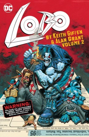 LOBO BY KEITH GIFFEN AND ALAN GRANT VOLUME 2 GRAPHIC NOVEL