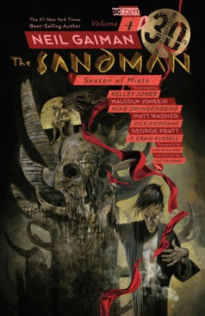 SANDMAN VOLUME 4 SEASON OF MISTS 30TH ANNIVERSARY EDITION GRAPHIC NOVEL