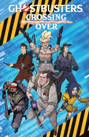 GHOSTBUSTERS CROSSING OVER GRAPHIC NOVEL