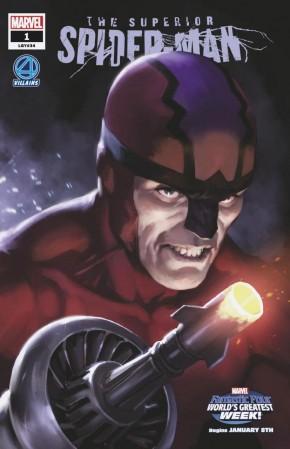 SUPERIOR SPIDER-MAN #1 (2018 SERIES) DJURDJEVIC FANTASTIC FOUR VILLAINS VARIANT