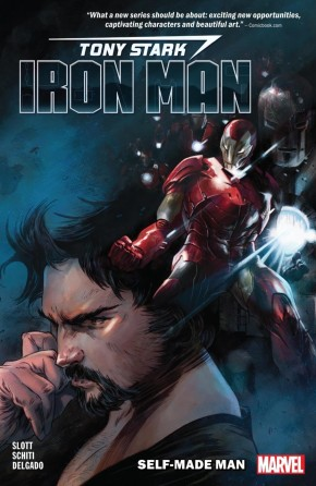 TONY STARK IRON MAN VOLUME 1 SELF MADE MAN GRAPHIC NOVEL