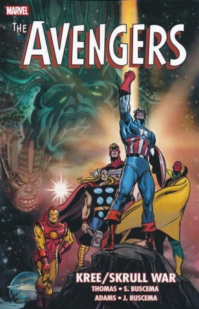AVENGERS KREE SKRULL WAR GRAPHIC NOVEL (NEW PRINTING)