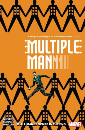 MULTIPLE MAN IT ALL MAKES SENSE IN THE END GRAPHIC NOVEL