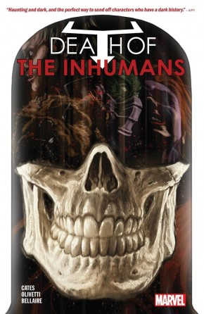 DEATH OF THE INHUMANS GRAPHIC NOVEL