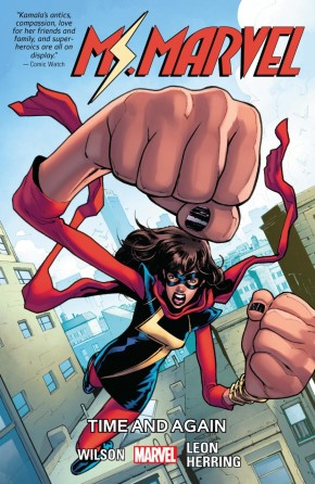MS MARVEL VOLUME 10 TIME AND AGAIN GRAPHIC NOVEL