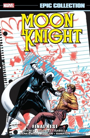 MOON KNIGHT EPIC COLLECTION FINAL REST GRAPHIC NOVEL